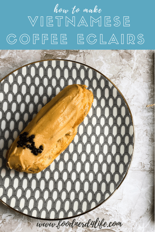 Vietnamese Coffee Eclair Pin
