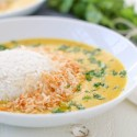 Golden Coconut Lentil Soup