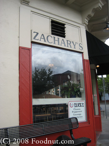 Zachary's Chicago Pizza Restaurant Review, Oakland
