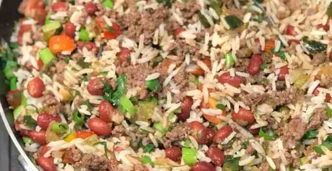 Puerto Rican Dirty Rice