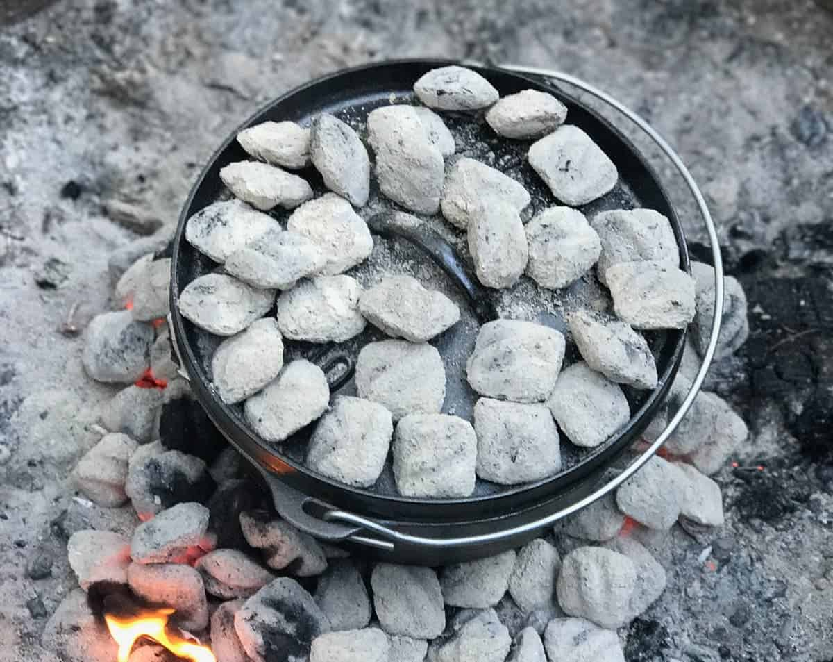 Cooking in the fire