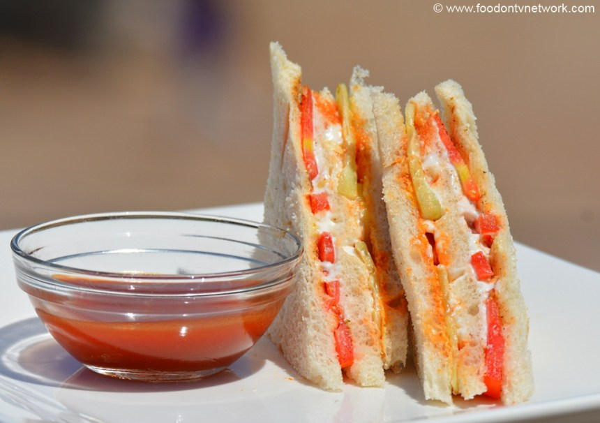 Mayo Sandwich Recipe. Easy Fast Food.