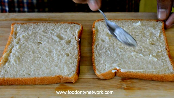 Indian Vegetarian Sandwich Recipe.