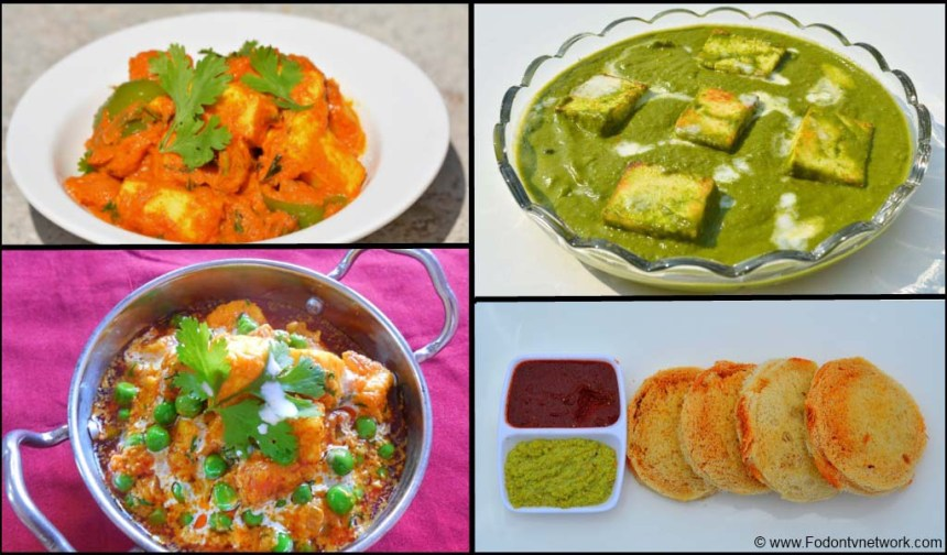 Best 11 Paneer Recipes.