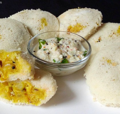 Stuffed Idli Recipe, Idli with Vegetables, Aloo Stuffed Idli, Bharva Idli Recipe, South Indian Idli Recipe, Breakfast Recipe.