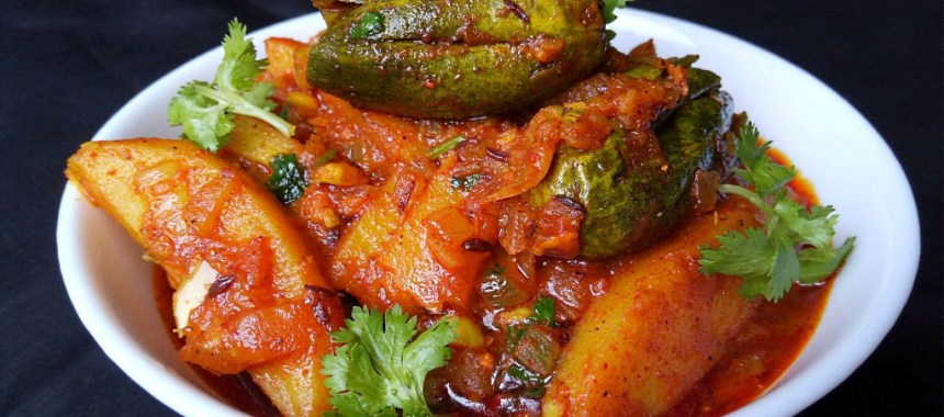 Potato and Parwal Curry Recipe | Authentic Indian Curry