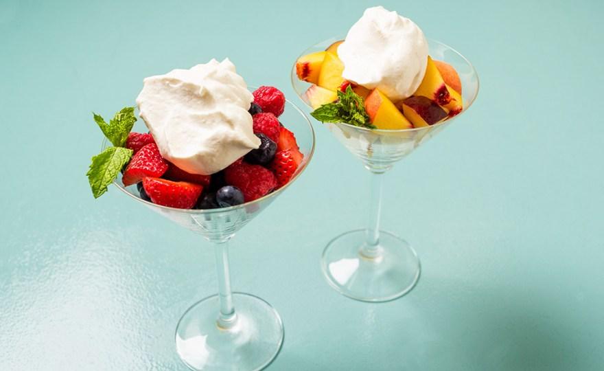 Date & Bourbon Chantilly Cream