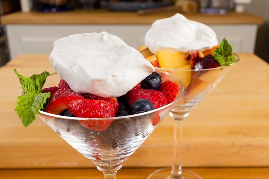Date & bourbon chantilly cream dessert on Food Over 50