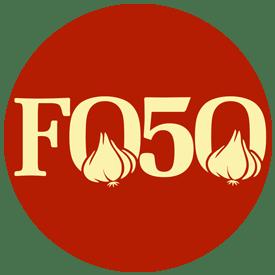 Food Over 50, round logo