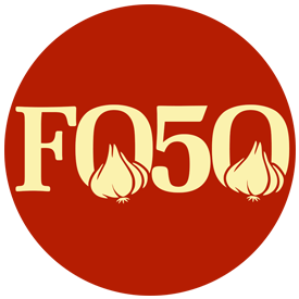 Food Over 50, round logo