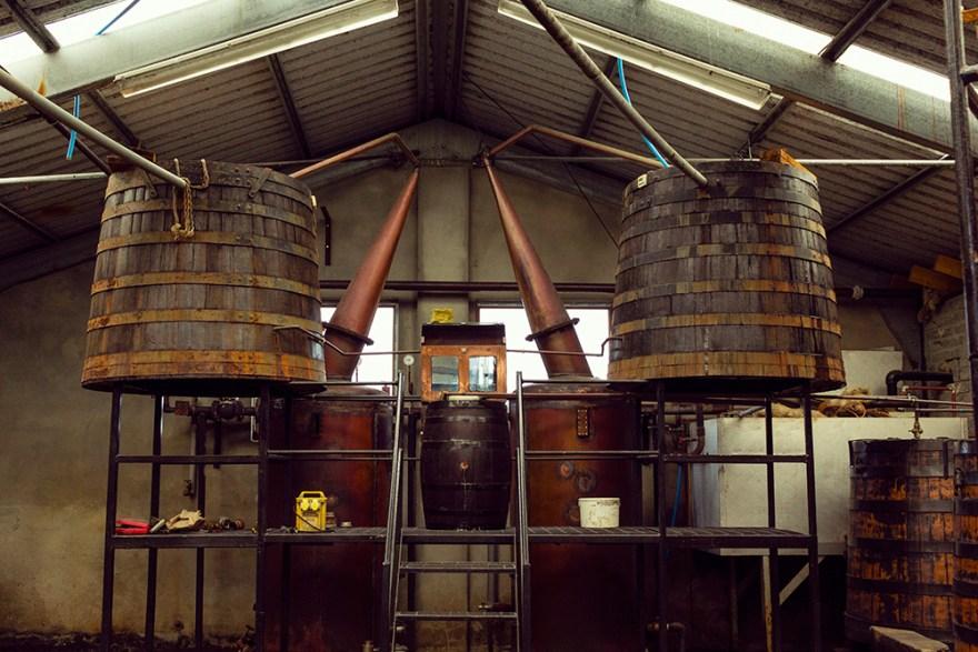 Red River Distillery in Scotland