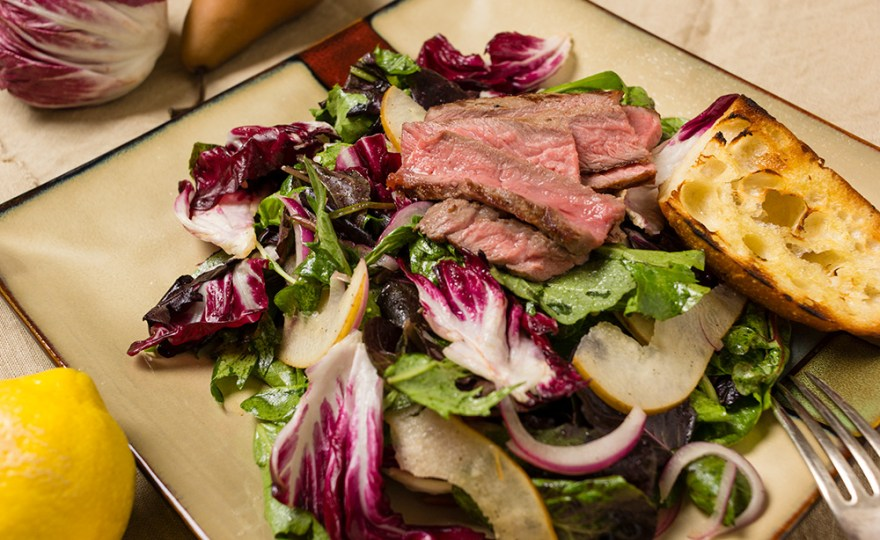 Bittersweet Steak Salad