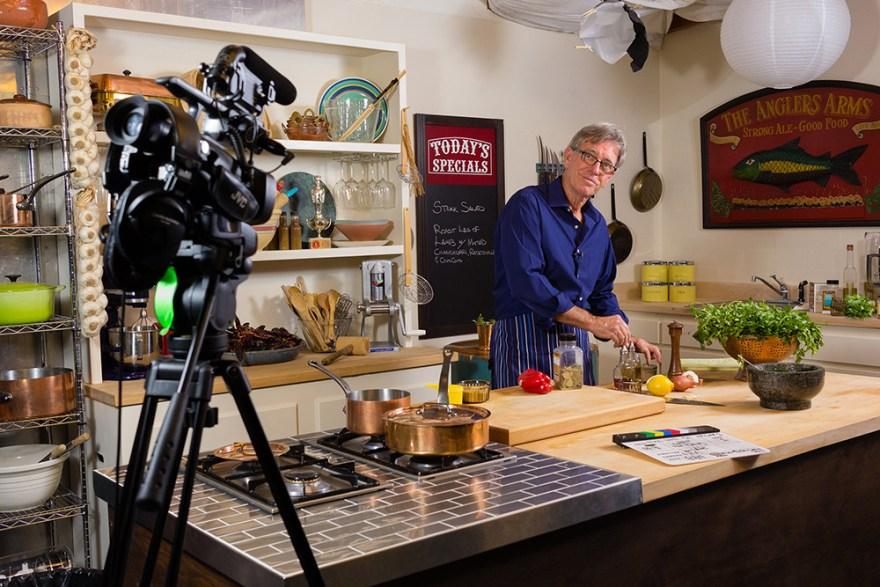 David Jackson cooks on Food Over 50.