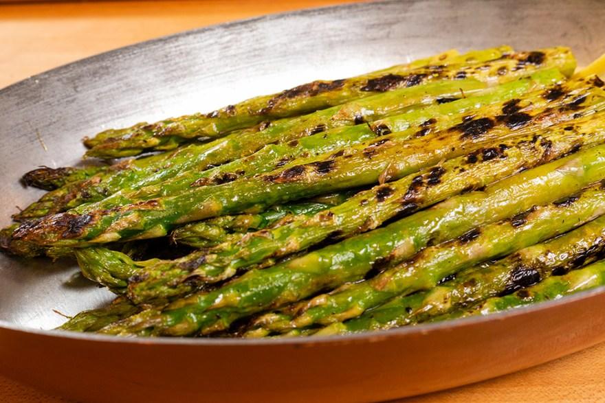 Grilled Asparagus For Poulet Jardin