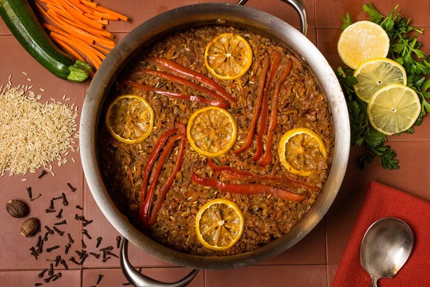 Vegetable & Rice Pilaf