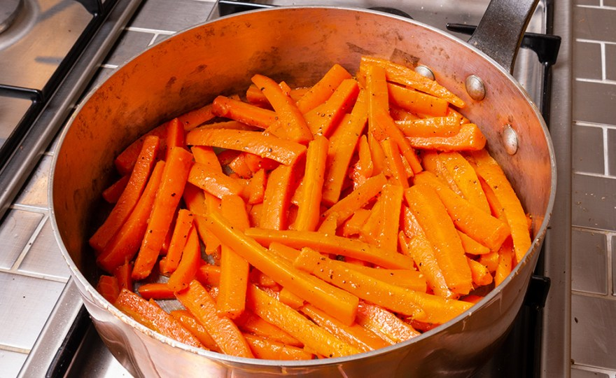 Sautéed Julienne of Carrots