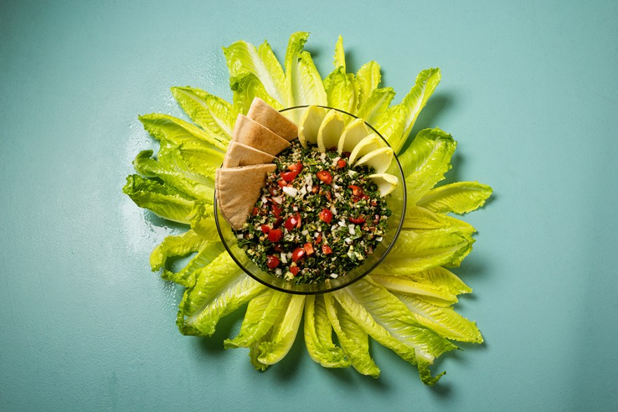 Tabbouleh as prepared by David Jackson on Food Over 50