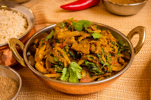 Lamb curry from the spices of life