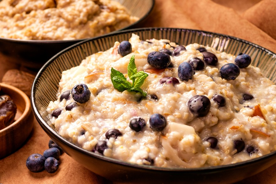 Blueberry Slow Oats