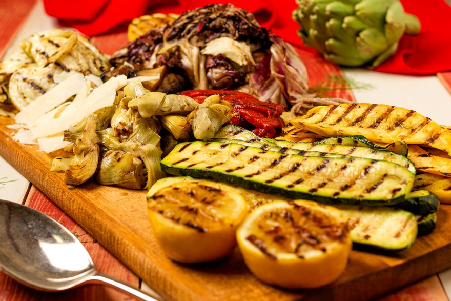 Antipasto recipe loaded with fiber as prepared by Food Over 50