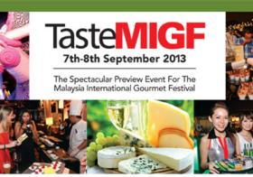 Taste Malaysia International Gourmet Festival 2013