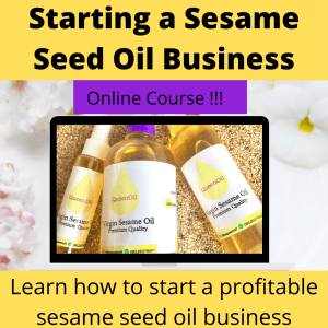 Sesame oil online course