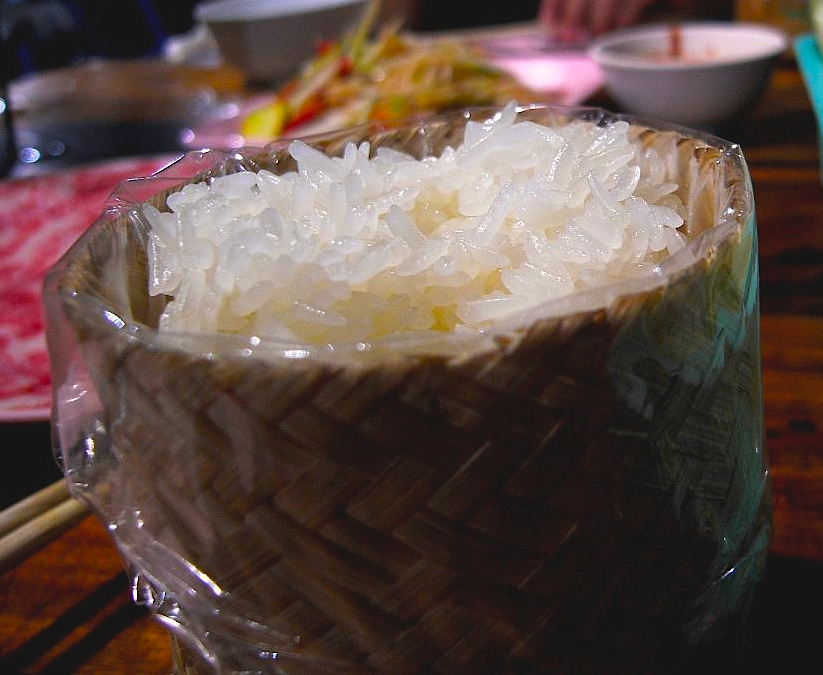 Asian rice dessert have
