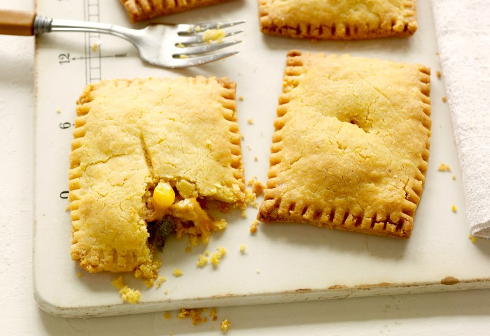 Chicken Chile Relleno Pies Recipe