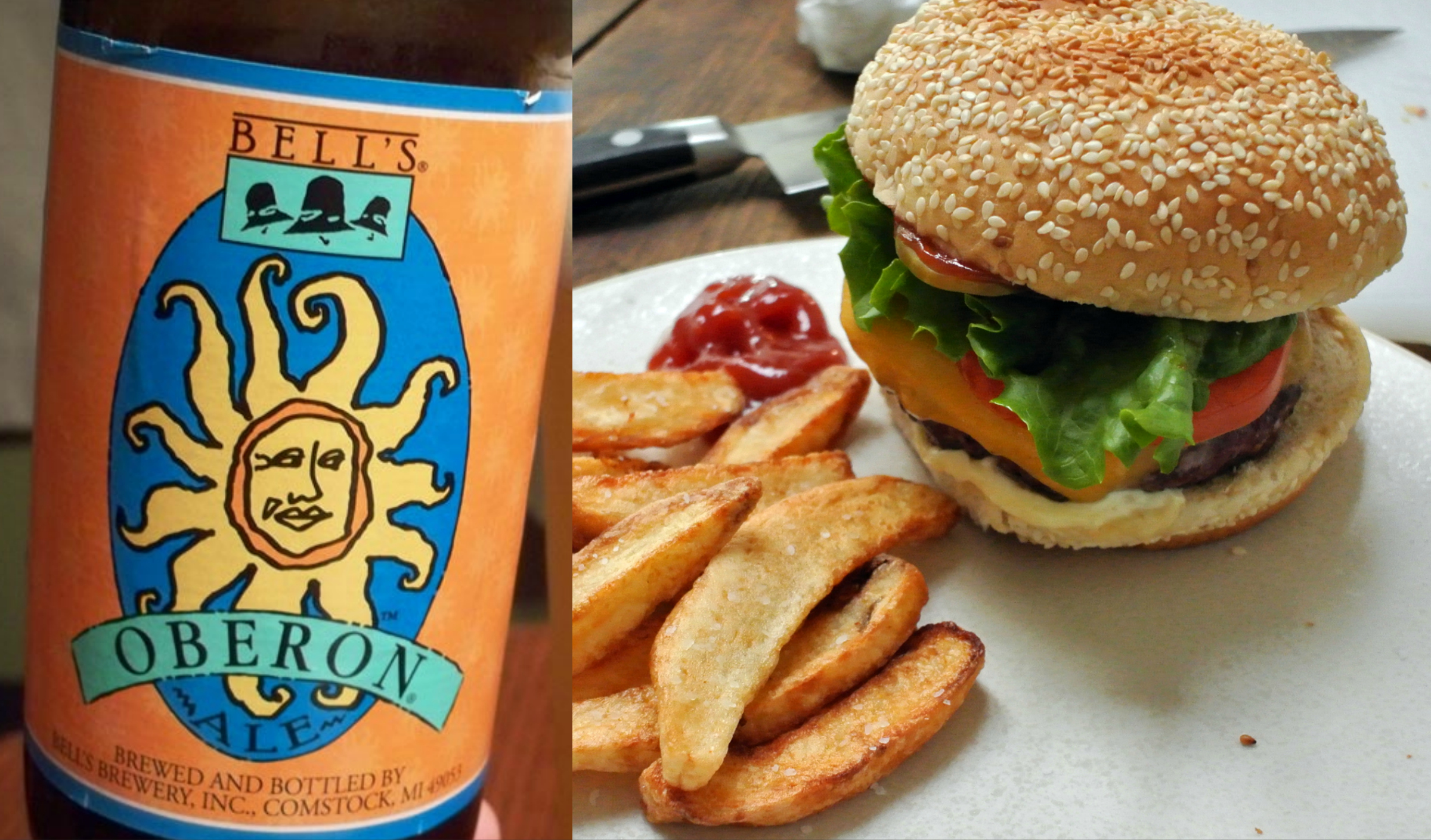 How To Pair Beer With Burgers Food Republic