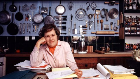 Julia Child's 100 Favorite Recipes Revealed