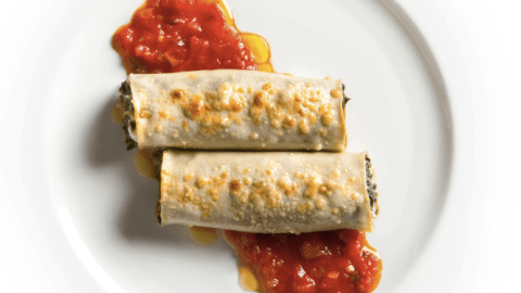 Add some tanginess and earthiness to your cannelloni. (Photo: Francesco Tonelli.)