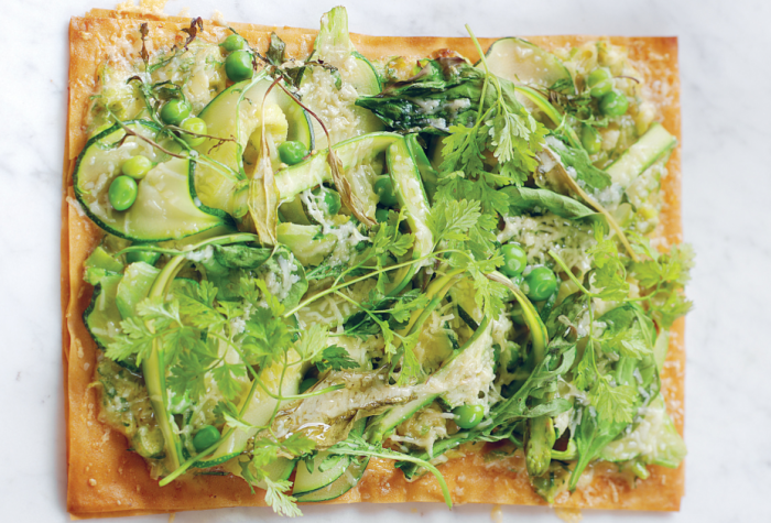 A Vegetable Tart Recipe That Reminds Us That Spring Has Sprung