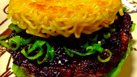 It's your chance to try out a ramen burger...and for a good cause!