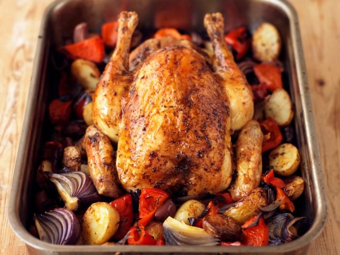 Spanish-Style Roast Chicken Recipe | Food Republic