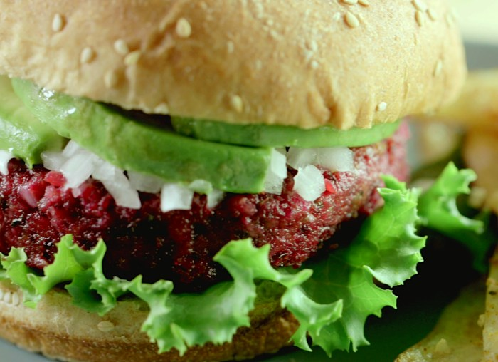 vegan beet burger recipe