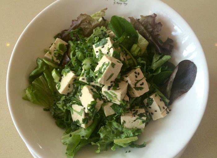 Sesame Citrus Tofu Salad Recipe