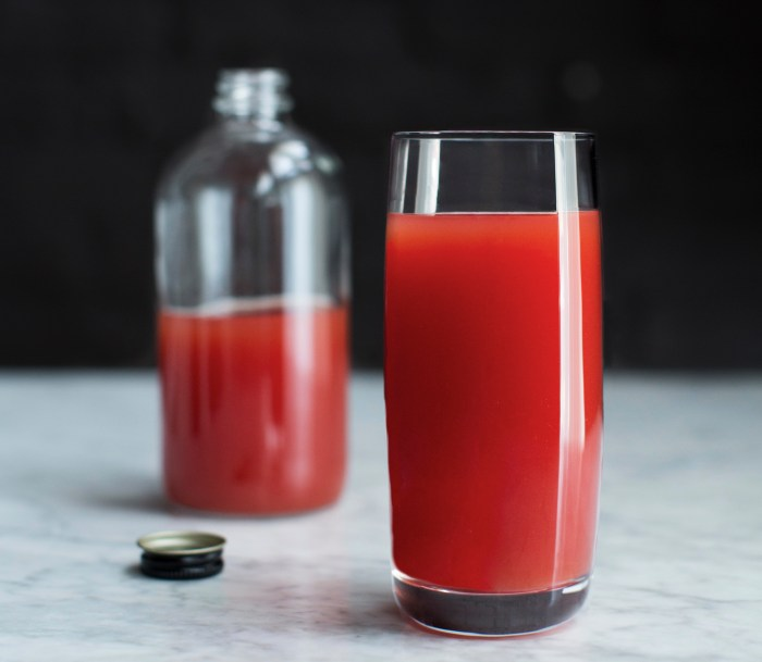 Tomato, Watermelon And Lime Juice Recipe