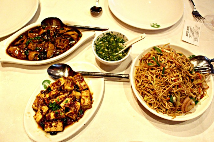 A classic Indian-Chinese spread.