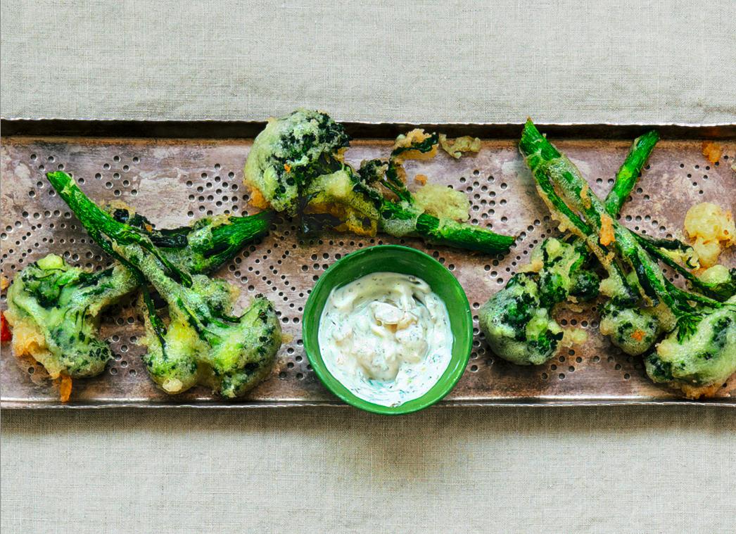 Ginger Beer-Battered Broccoli Tempura Recipe - Food Republic
