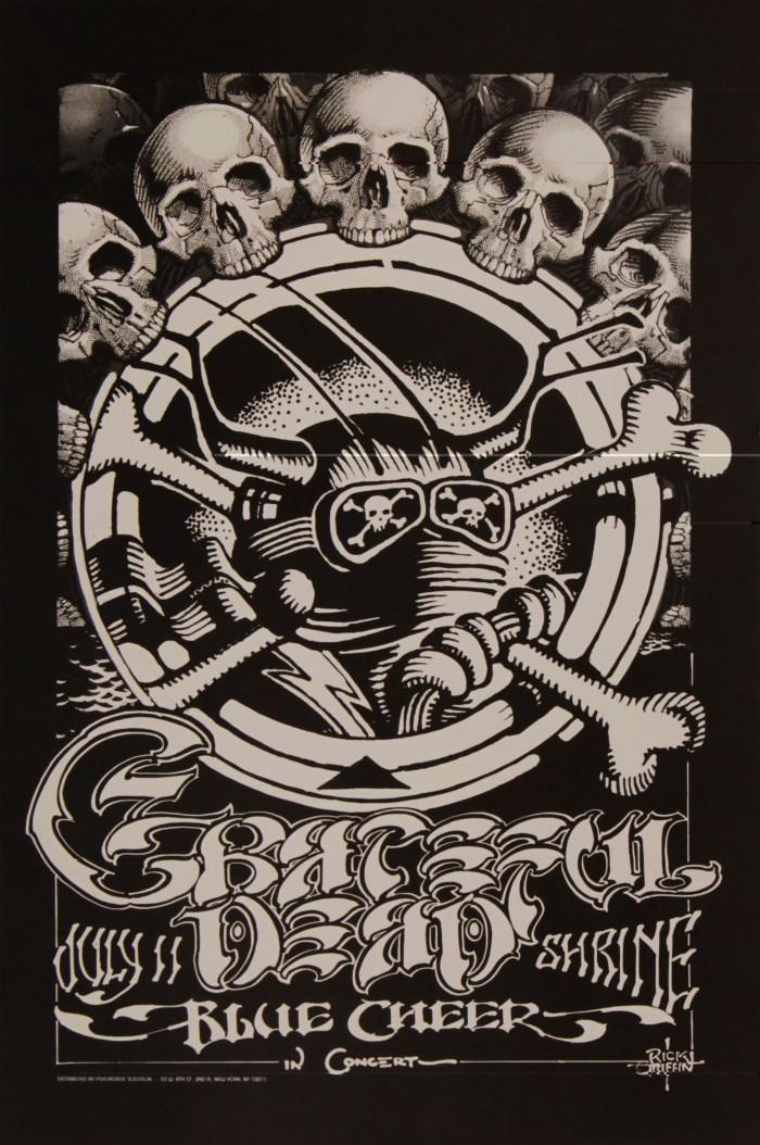 GD -LA Shrine Auditorium- by Rick Griffin, 1968
