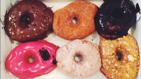 You might not want to look at what Im2Calories has to say about these donuts.