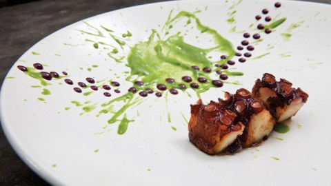 An octopus dish at Lima, Peru's Central, just named the best restaurant in Latin America. (Photo: The World's 50 Best.)