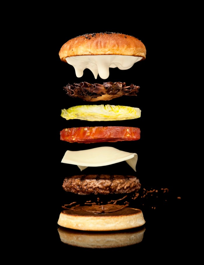 Modernist Cuisine's labor-intensive burger takes 30 hours to make. (Photo courtesy of Modernist Cuisine.)