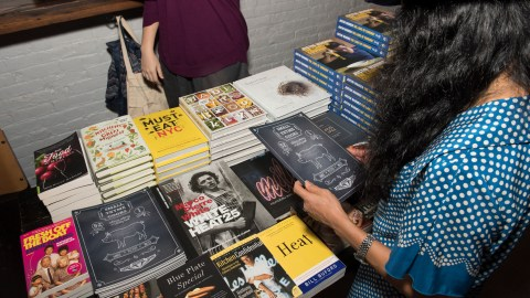 The Food Book Fair comes back to celebrate all things food media. (Photo: Liz Clayman.)