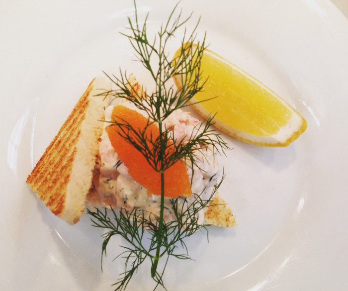 Toast Skagen, a Swedish classic (Photo: Jenny Miller)