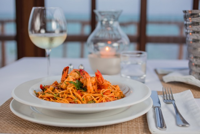 Dinner at Sahara Cafe
