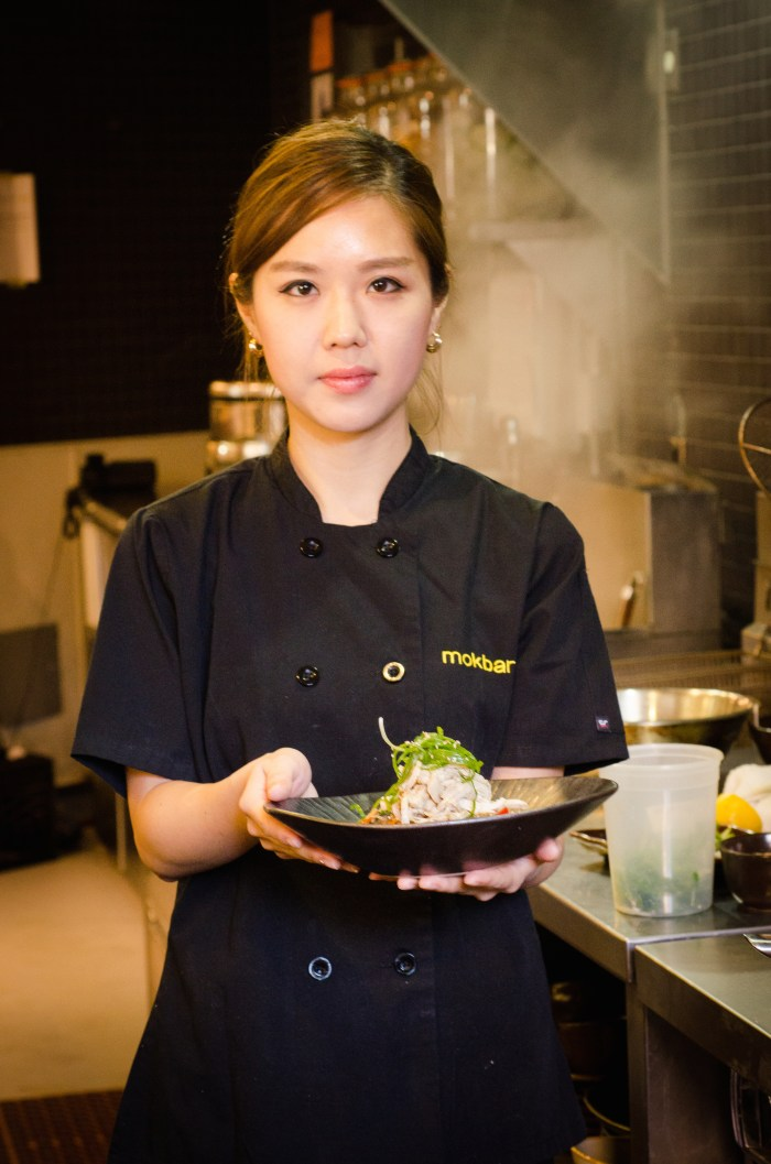 Chef Esther Choi.