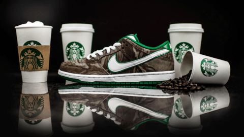 Meet the shoe that will match your morning cup.