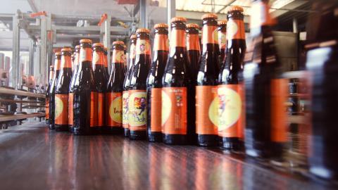 This Belgian beermaker built a two-mile-long pipeline. (Photo: De Halve Maan/Facebook.)