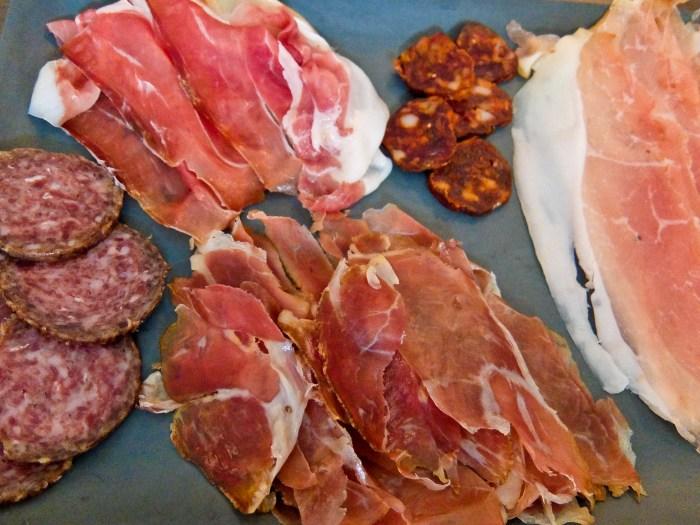 Kissbende Mangalica Meat Plate